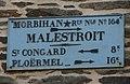 Malestroit - Plaque de cocher Fbg Madeleine.JPG