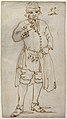 Man Smoking a Pipe (recto); Standing Man and Two Studies of His Head (verso) MET 39.79 RECTO.jpg
