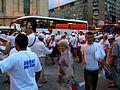 Mangalioţi, protest Piaţa Revoluţiei 26-7-12.jpg