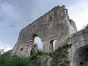 Crimean Goths - The modern day ruins of Mangup (Doros): Capital of the Crimean Goths.