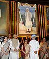 Manmohan Singh, the Speaker, Lok Sabha, Smt. Meira Kumar, the Leader of Opposition in Lok Sabha, Smt. Sushma Swaraj, the Chairperson, National Advisory Council, Smt. Sonia Gandhi and the Chairman.jpg