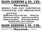 Mann, Egerton and Co advertisement (1912).jpg