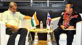 Manohar Parrikar and his Thai counter-part General Prawit Wongsuwan in a bilateral meeting, on the sidelines of the 3rd ASEAN Defence Ministers' Meeting (ADMM-plus), in Kuala Lumpur, Malaysia on November 03, 2015.jpg