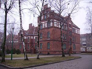 Klaipėda University - Historic buildings on the campus of Klaipėda University