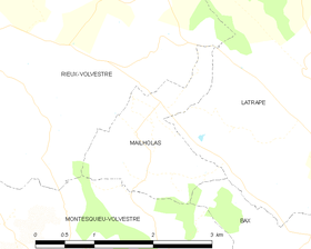 Map commune FR insee code 31312.png