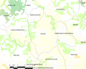 Map commune FR insee code 32025.png