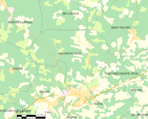 Map commune FR insee code 40067.png