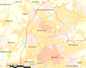 Map commune FR insee code 59599.png