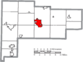 Map of Auglaize County Ohio Highlighting Wapakoneta City.png