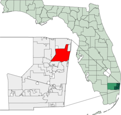 Map of Florida highlighting Pompano Beach.png