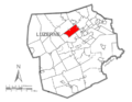 Map of Luzerne County, Pennsylvania Highlighting Jackson Township.PNG