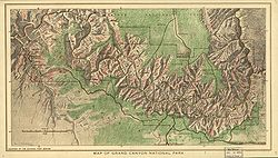 Map of the Grand Canyon National Park 1926.jpg