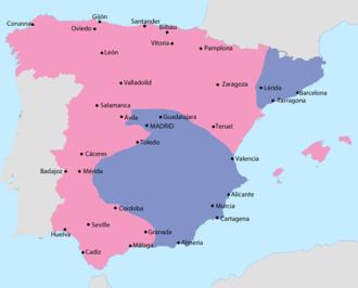 villarreal espanha mapa Spanish Civil War   Wikipedia villarreal espanha mapa