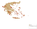 Map of traditional villages in Greece.png