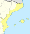 Mapa Segunda B Grupo III 2012-13.png