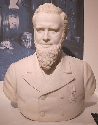 William Howard Doane - Marble bust of William Howard Doane Cincinnati Art Museum