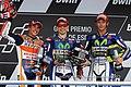 Marc Márquez, Jorge Lorenzo and Valentino Rossi 2015 Jerez 2.jpeg