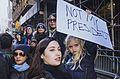 March against Trump, New York City (30648538810).jpg