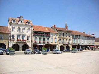 Canton of Pardiac-Rivière-Basse - Marciac Central place