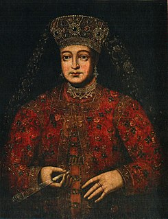 title of a female autocratic ruler of Bulgaria or Russia