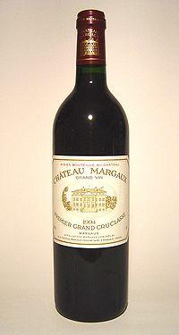 photo vin chateau margaux 1994