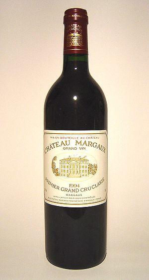 Château Margaux - A bottle of Château Margaux 1994
