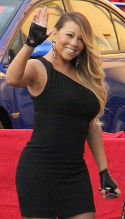 Mariah Carey At The 2014 SAG Awards (cropped).jpg