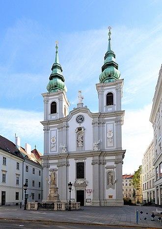 Mariahilf - Mariahilfer Kirche (church).