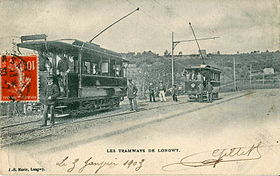 Image illustrative de l'article Tramway de Longwy