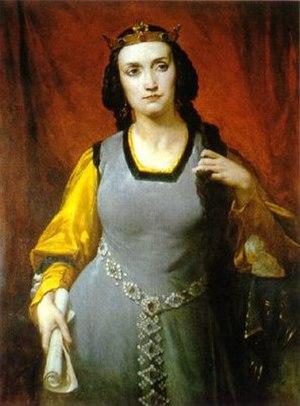 Marie Dorval - Marie Dorval in Agnès de Méranie by Hippolyte Lazerges (1817-1887)