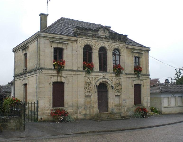 Gemeindeverwaltung Valcourt, canton de St. Dizier, Haute-Marne