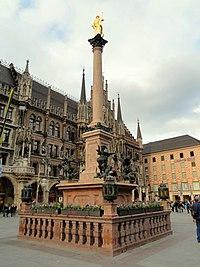 Mariensäule, Marienplatz, München - DSC08763.jpg