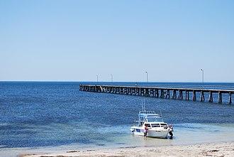 Marion Bay, South Australia - Jetty at Marion Bay