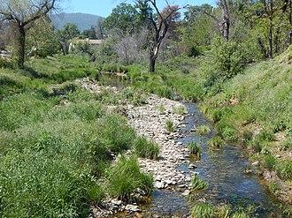 Mariposa Creek - Mariposa Creek in the town of Mariposa