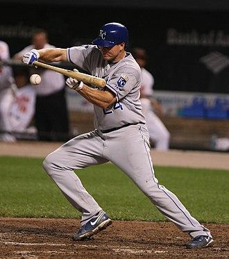 Arizona Fall League - Mark Teahen won the first Stenson Award in 2004.