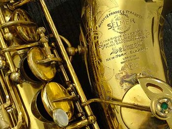 Bell Of A Selmer Mark Vi Alto Saxophone Within...
