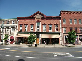 Market Street Historic District (Potsdam, New York) - Image: Market Street Historic District Potsdam NY May 11