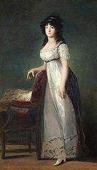 Retrato de la Marquesa de Lazán