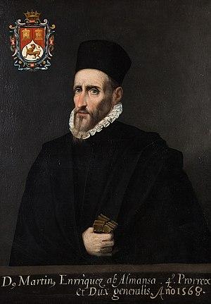 Martín Enríquez de Almanza - Don Martín Enríquez de Almanza