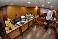 Martin Bellamy Interacts with Participants and Dignitaries - valedictory Session - Collections and Storage Management Workshop - NCSM - Kolkata 2016-02-20 9968.JPG