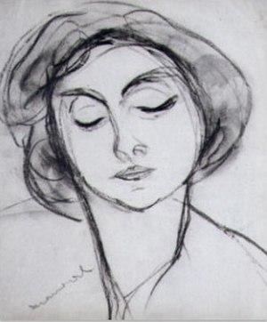 Jacqueline Marval - Marval self portrait