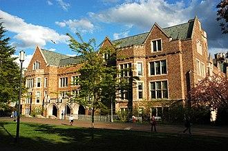 University of Washington Information School - Mary Gates Hall, home of the Information School