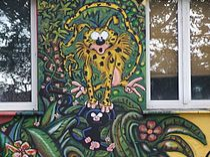 Masipulami an Düsseldorfer Hauswand in der Kiefernstraße DSCF0095.jpg