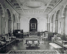 Peabody Mason music room, Boston, MA circa 1920