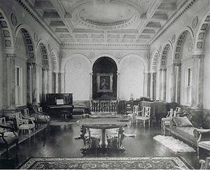 Peabody Mason Concerts - Mason music room, c. 1920