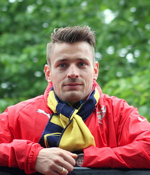 Mathieu Debuchy - Debuchy after winning the 2015 FA Cup Final with Arsenal.