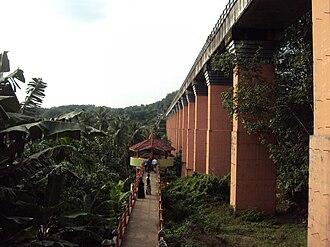 Mathur Aqueduct - Side View of Mathoor Aqueduct