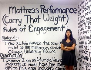 Mattress Performance (Carry That Weight) - Mattress Performance rules of engagement, Columbia University, 2014