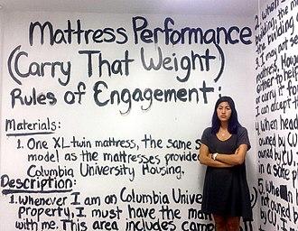 Mattress Performance (Carry That Weight) - Mattress Performance rules of engagement, Columbia University, 2014