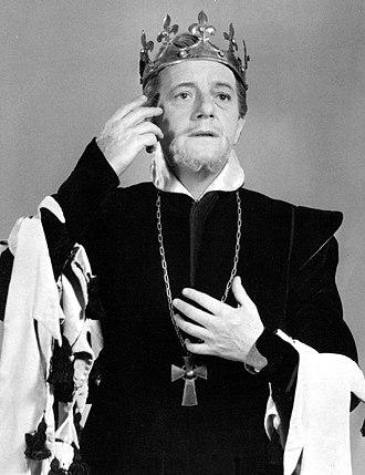 Maurice Evans (actor) - Evans as Richard II.